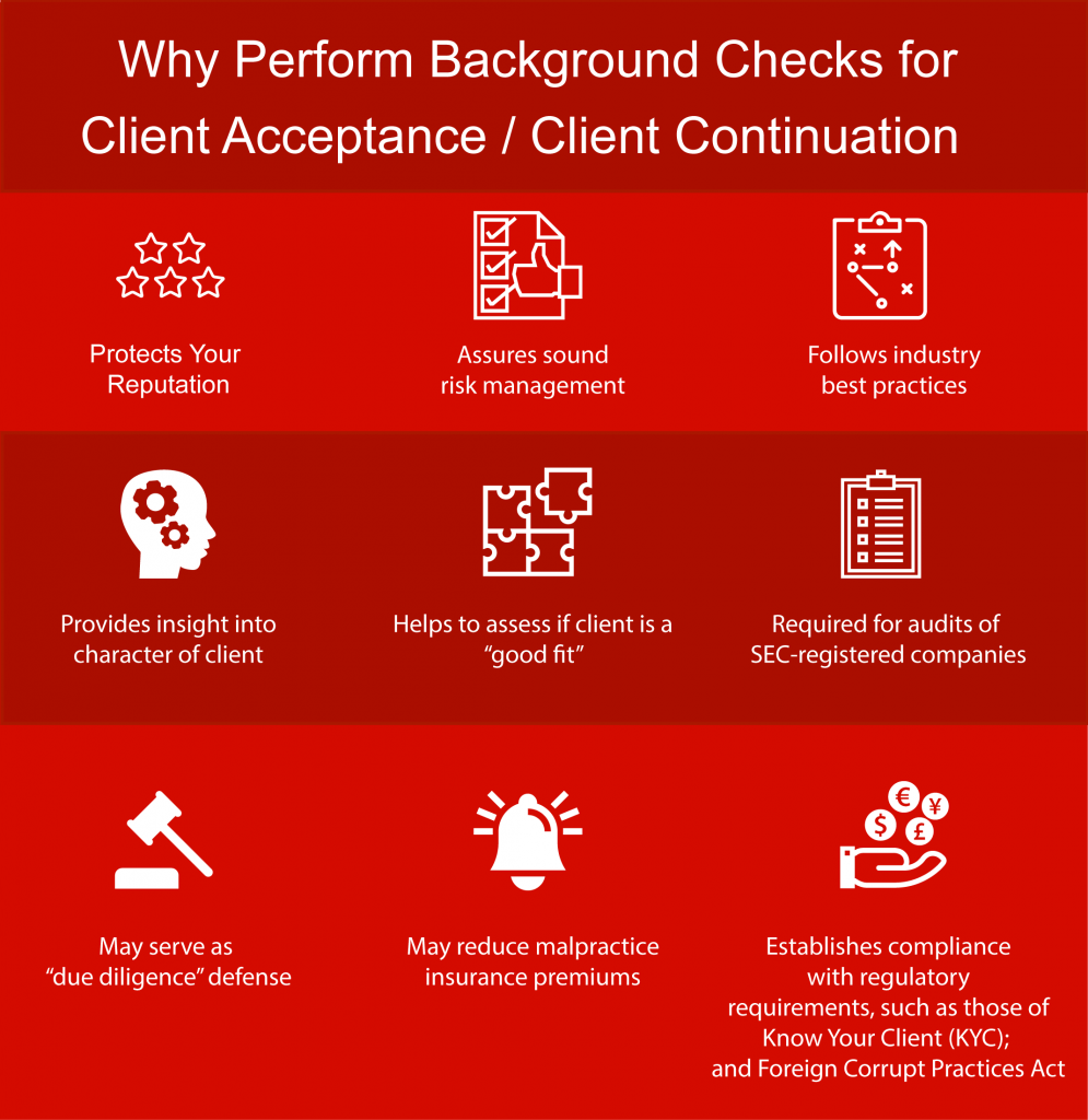 Background Screening for Accounting Firms